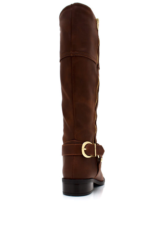 Zip It Good Riding Boots DKTAN