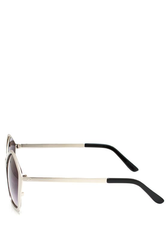 Play With Shapes Sunglasses SILVER