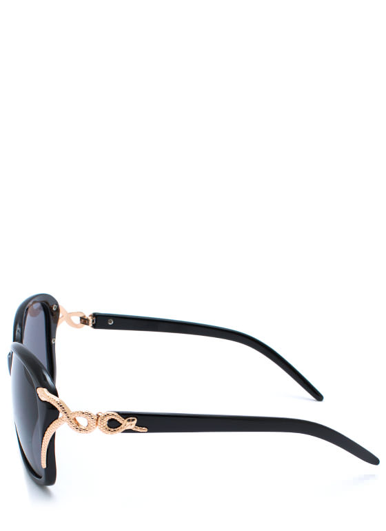 Snake Tamer Sunglasses BLACKBLACK