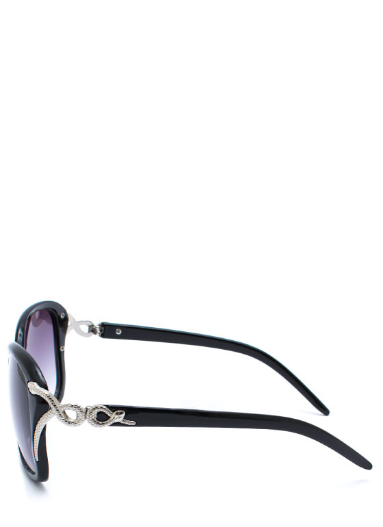 Snake Tamer Sunglasses BLACKSILVER