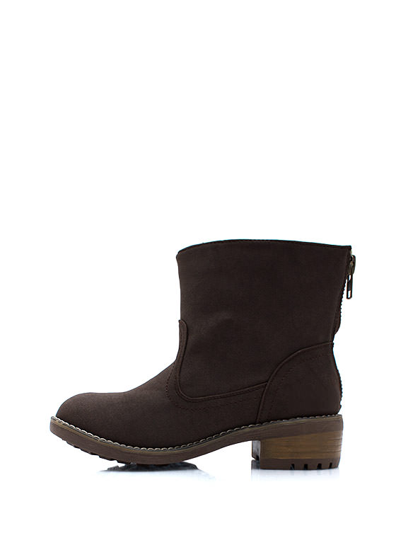 Superstar Moto Boots BROWN
