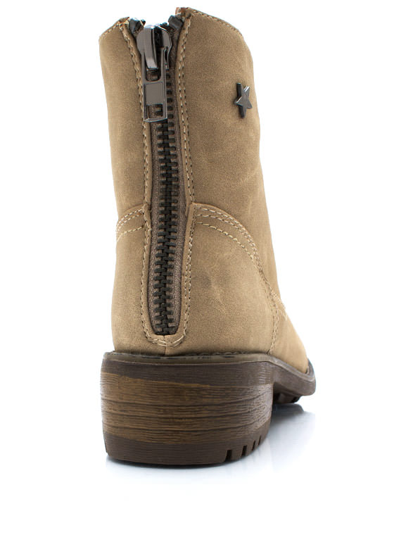 Superstar Moto Boots NATURAL