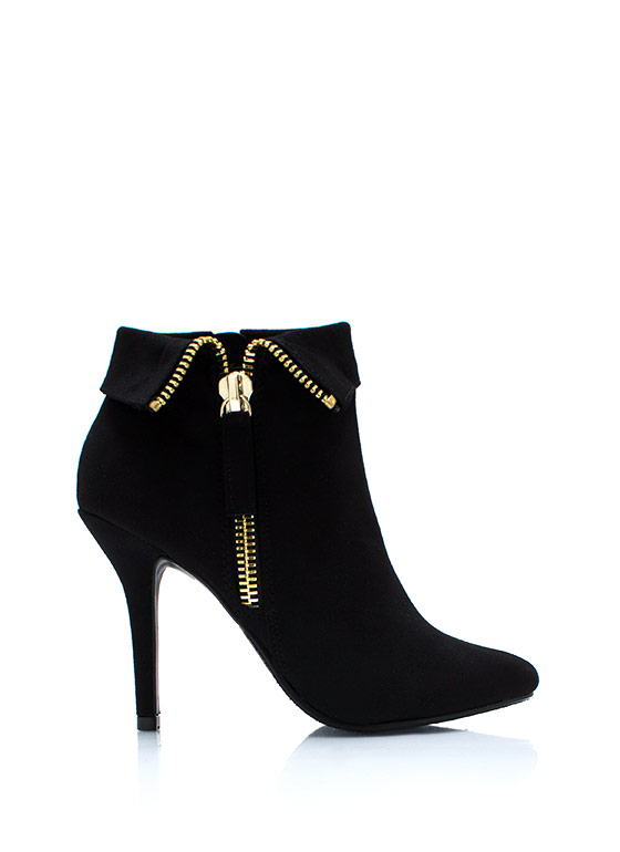 Zip It Good Booties BLACK