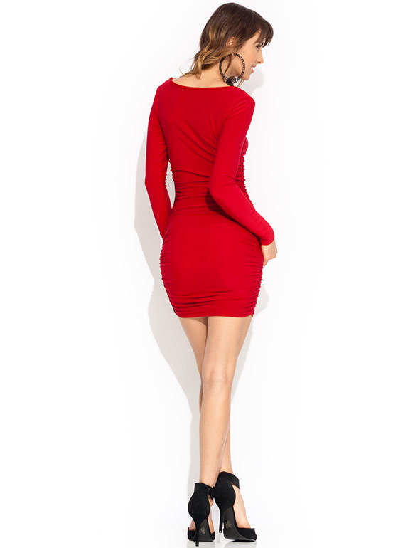 Hook Or By Crook Dress RED