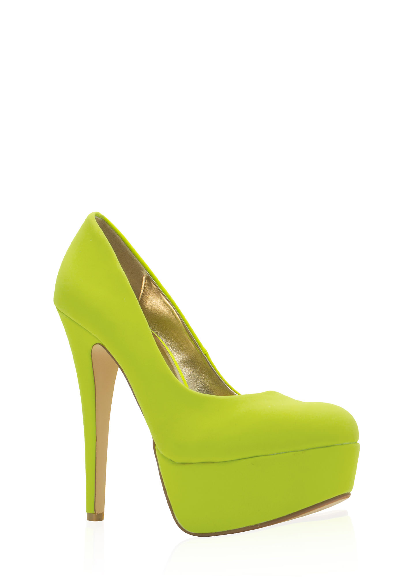 Simply Irresistible Platforms NEONLIME