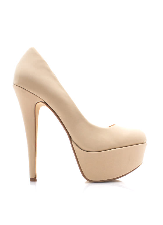 Simply Irresistible Platforms NUDE