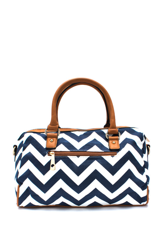 Ziggy Zag Purse NAVYTAN