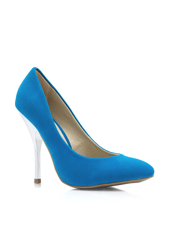 Cool Your Heels Accent Pumps BLUE