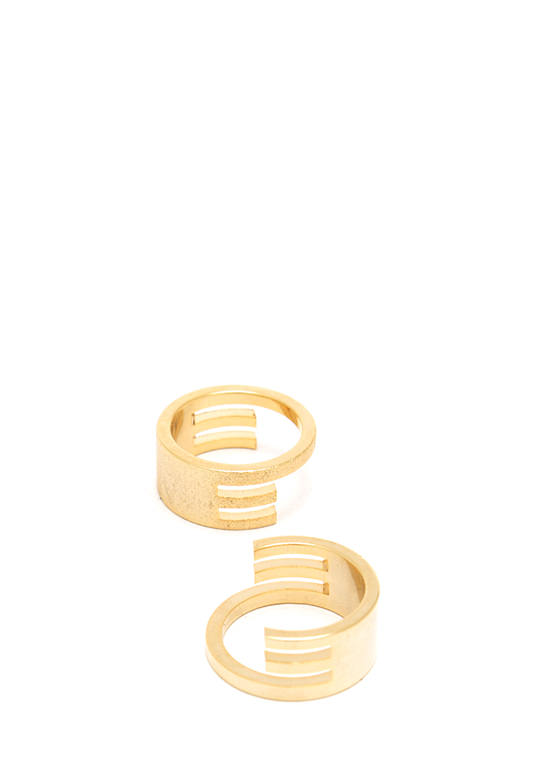 Perfect Fit Stacked Ring Duo GOLD