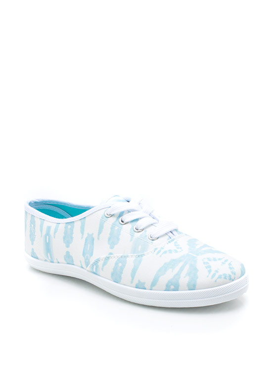 Tie Dye For Canvas Sneakers BLUE