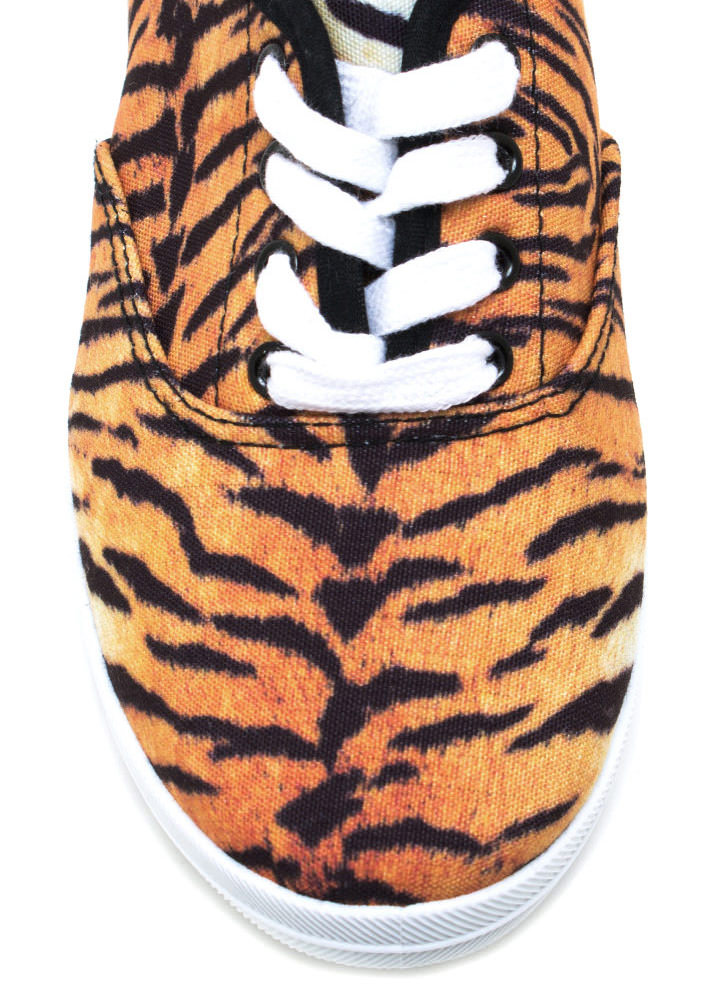 Hear Me Roar Sneakers BLACKBROWN