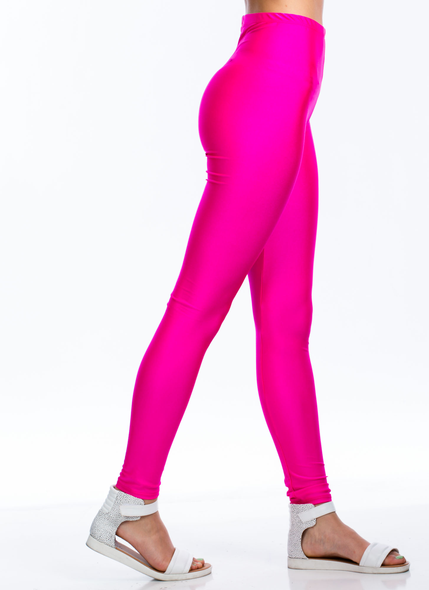 Rise And Shine Leggings FUCHSIA