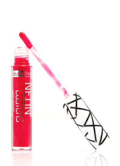 Beauty Treats Neon Lusters Lip Gloss FIRERED
