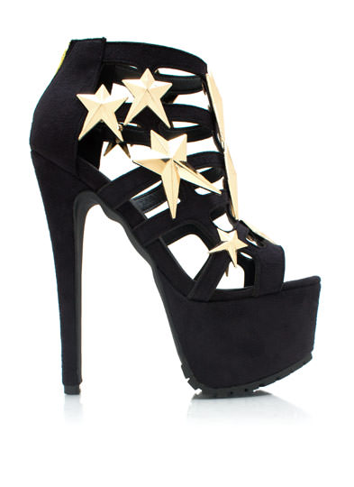 Caged UR A Star Heels BLACK