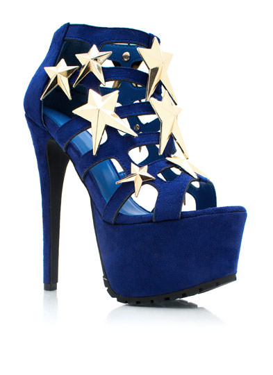 Caged UR A Star Heels ROYAL