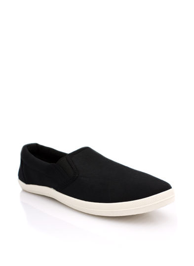 Basic Solid Canvas Skimmers BLACK