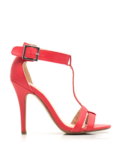 Fit Two A T Ankle Strap Heels CAYENNE