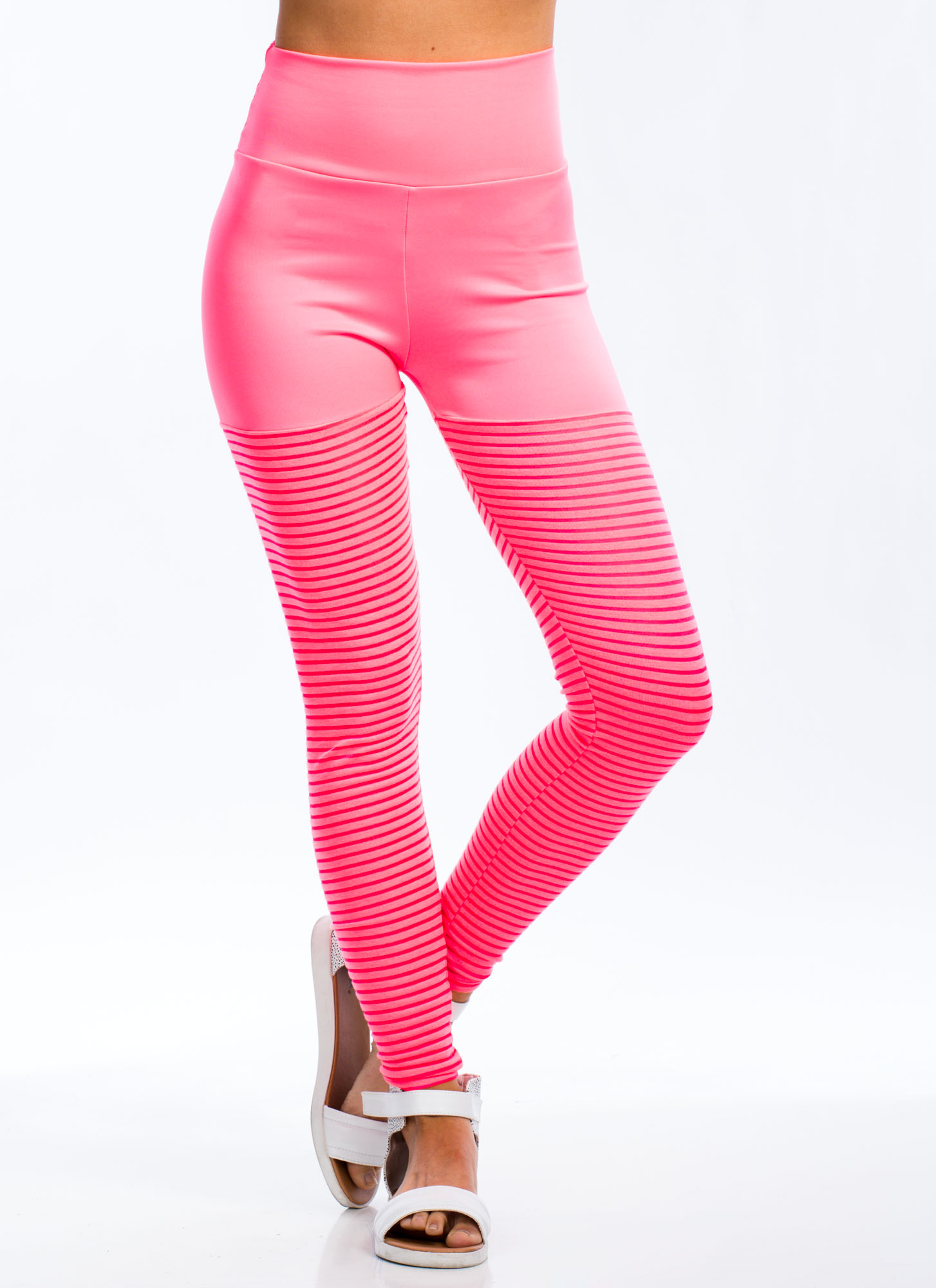 Sheer Thing Leggings NEONPINK