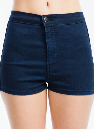 Back to Basics Denim Shorts INDIGO