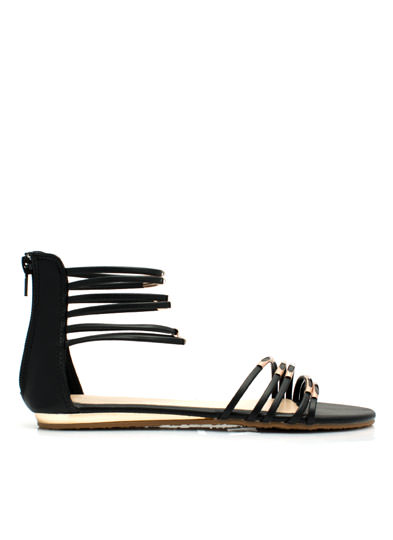 Straptown Girl Sandals BLACK