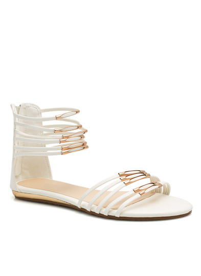 Straptown Girl Sandals WHITE