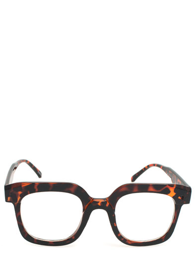 Square Deal Glasses DKTORTOISE