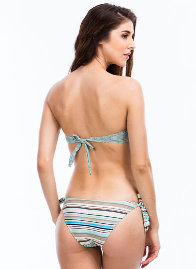 Geometric Tile Bikini Set GREENMULTI