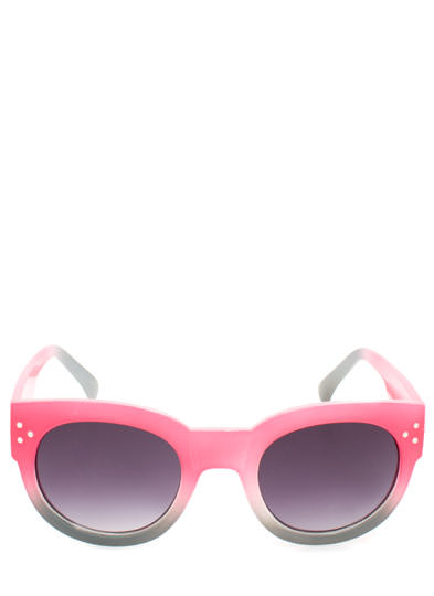 Around and Around Ombre Sunglasses PINK
