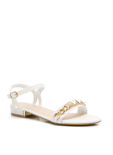Chained To The Pyramids Sandals WHITE