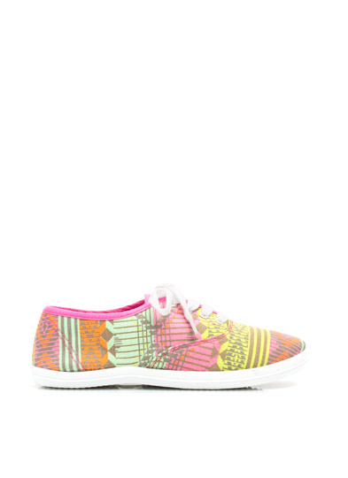 Prints Charming Canvas Sneakers NEONPINK