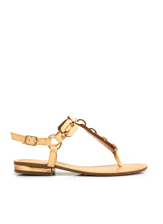 Link To Love You Sandals NUDE