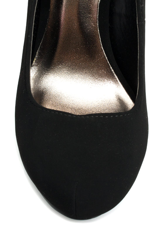 Make The Cut Mary Jane Heels BLACK
