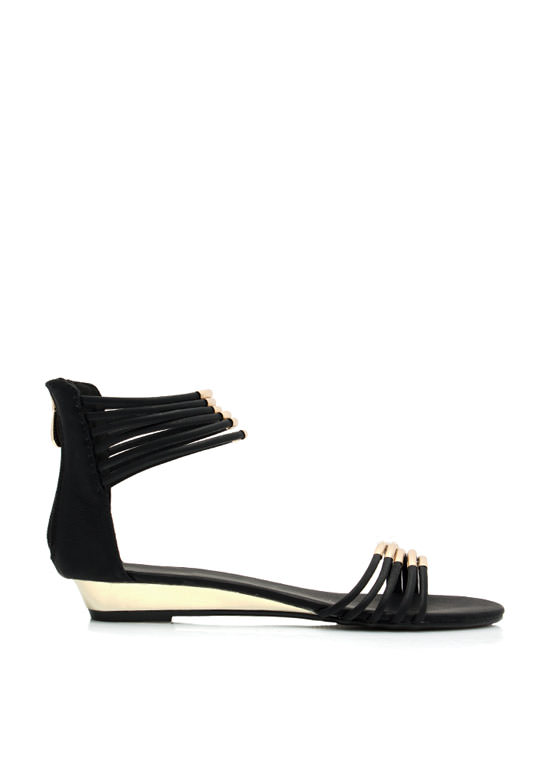 Fashion Nomad Tube Sandals BLACK