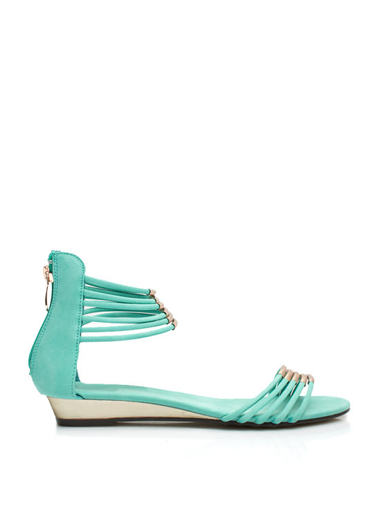 Fashion Nomad Tube Sandals MINT