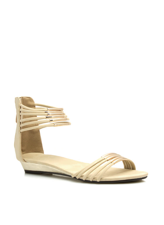 Fashion Nomad Tube Sandals NUDE