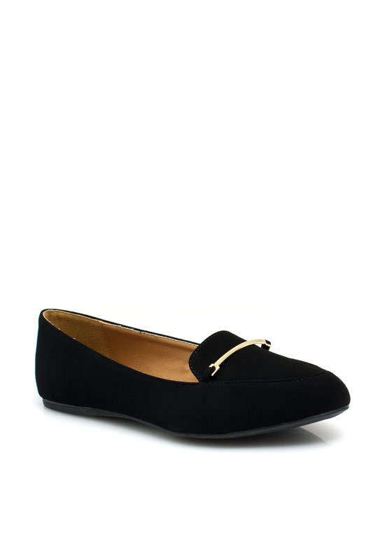 Raising The Bar Smoking Flats BLACK