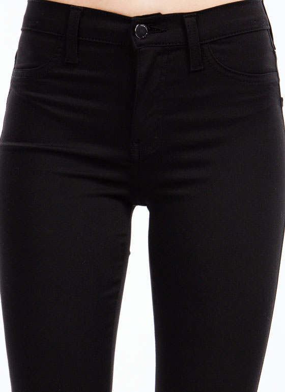 Forever Perfect Basic Pants BLACK