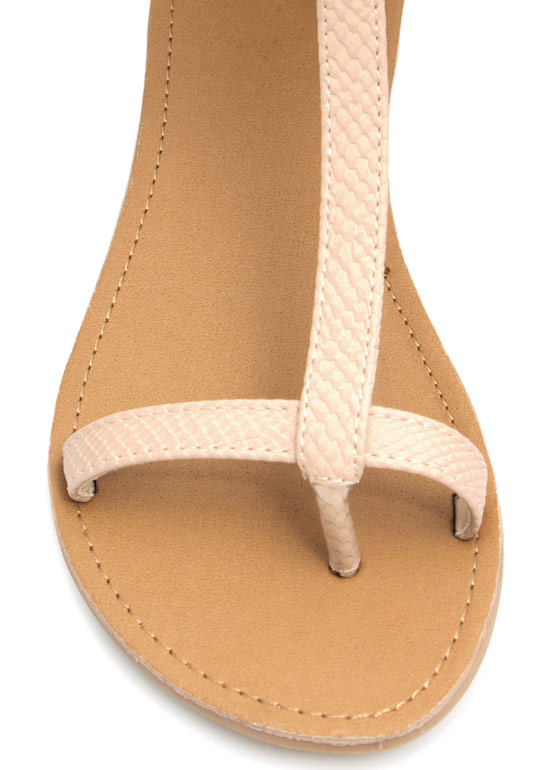 Keep Your Guard Up Sandals NUDE