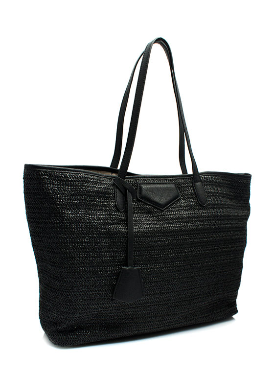 Oversized Beach Totebag BLACK