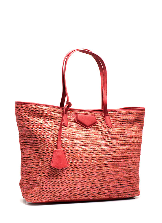 Oversized Beach Totebag CORAL