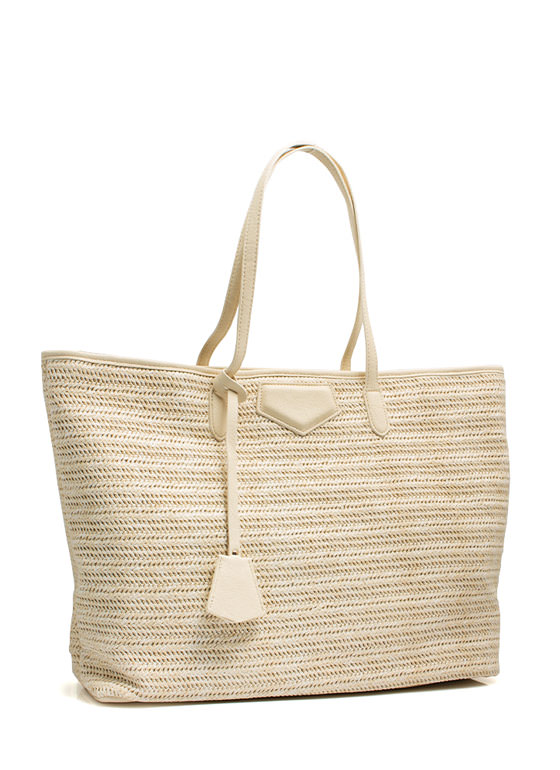 Oversized Beach Totebag CREAM