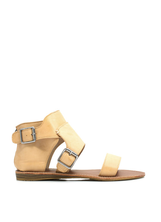 Caged Ankle Sandals SAND