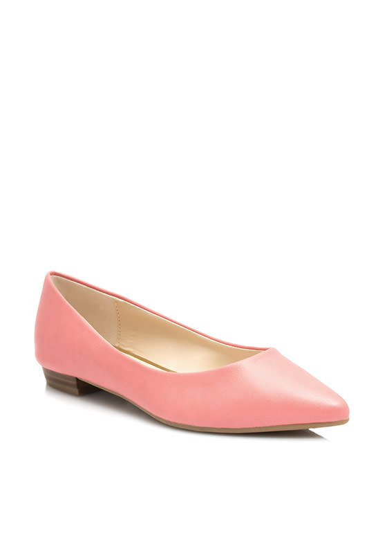 Straight Basic Pointy Flats MELON