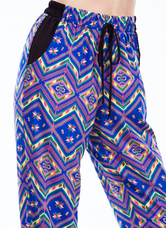 Tribal Talk Joggers ROYAL