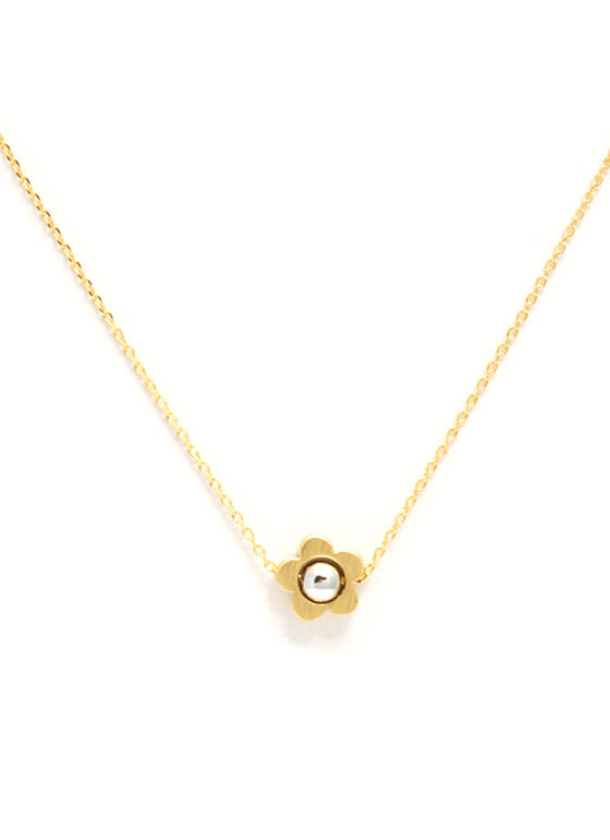 Daisy Daze Charm Necklace GOLDSILVER
