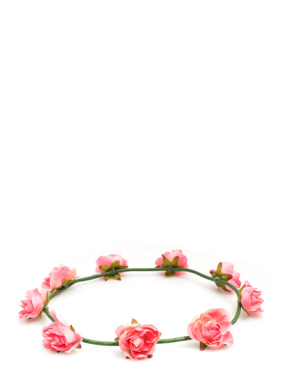 Bed Of Roses Headband PINK