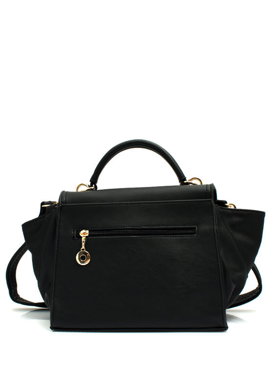 Mini Structured Handbag BLACK