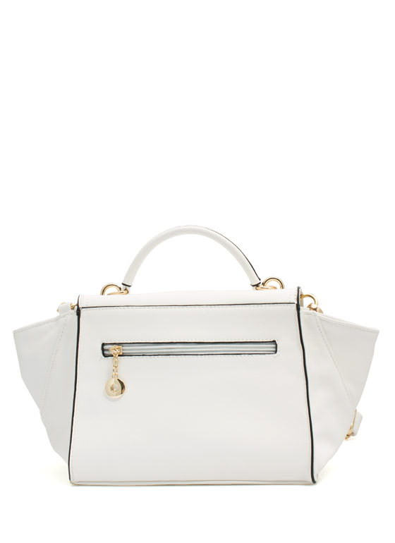 Mini Structured Handbag WHITE