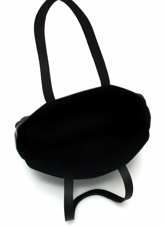 Mini Silicone Totebag BLACK