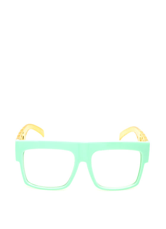 Chain Accent Glasses MINT